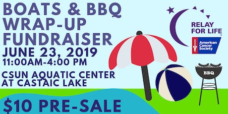 Relay Boats & BBQ tickets