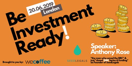 Be Investment Ready! tickets