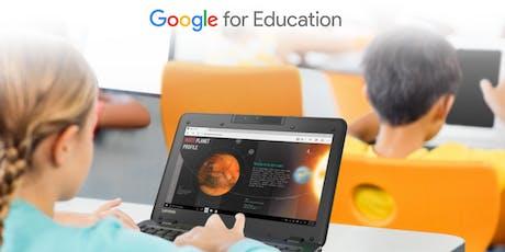 Google for Education in Italia: a Belluno l'evento ufficiale per le scuole tickets