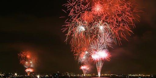 Summer Fireworks Kayak Tour