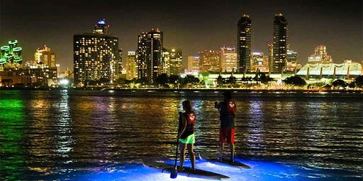 Stand Up Paddle Board Night Tour