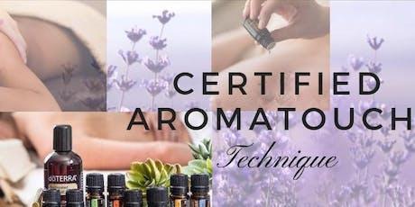 Certificación en AromaTouch Barcelona entradas