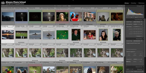 Learning to use Adobe lightroom Day Class (Parts 1&2) (Greensborough)