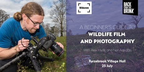 Beginner's guide to wildlife film and photography  tickets