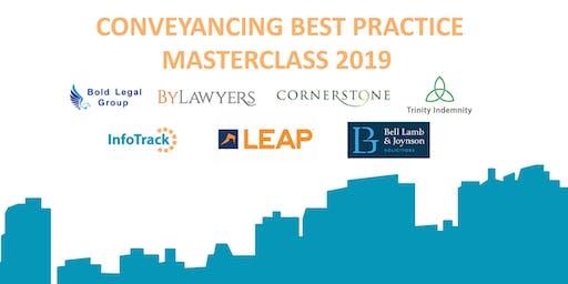 Conveyancing Best Practice Masterclass 2019 - Leeds