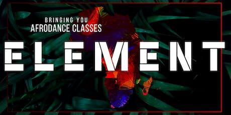 ELEMENT AFRODANCE CLASS (Afrobeat) tickets