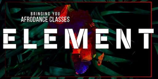 ELEMENT AFRODANCE CLASS (Afrobeat)