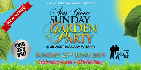 AGS Garden Party - Sunday 23rd June 2019 tickets