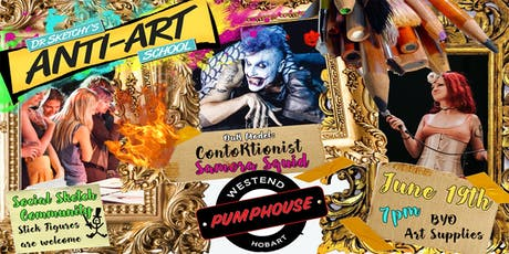 Dark Dr Sketchy's Anti Art School in Hobart tickets