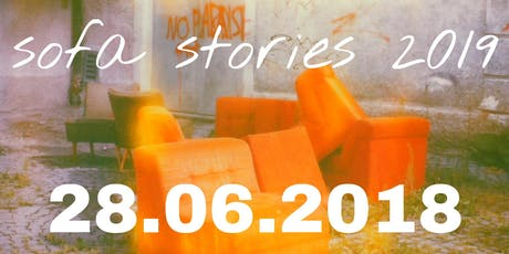 sofa stories 2019 - Lesungen frei Haus Tickets