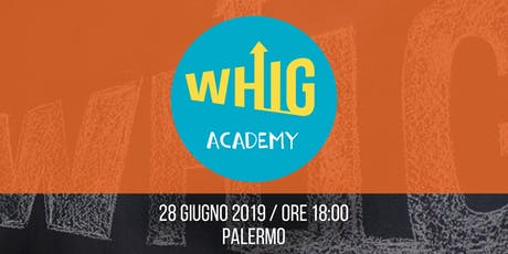WHIG Academy - Workshop gratuito di E-commerce tickets