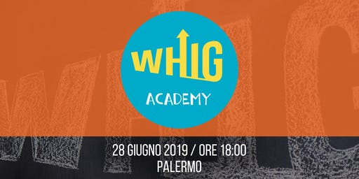 WHIG Academy - Workshop gratuito di E-commerce