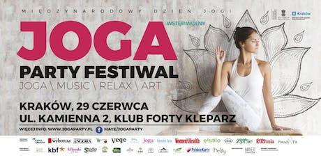 JOGA PARTY FESTIWAL – KRAKOW 2019 tickets