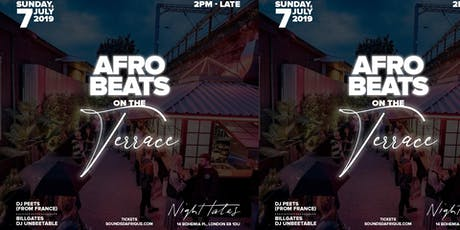 Afrobeats on the Terrace #AOTT tickets