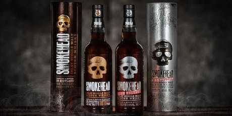 """FREE Smokehead Whisky Tasting """"An Islay Single Malt Whisky that's an assault on your senses"""" tickets"""