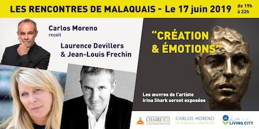 """Les Rencontres de Malaquais : """"Création et Emotions"""""""