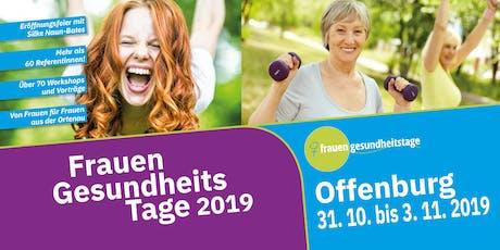 FrauenGesundheitsTage 2019 tickets