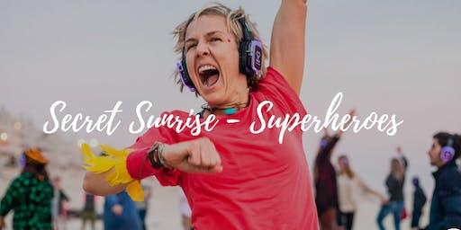Secret Sunrise London - Superheroes