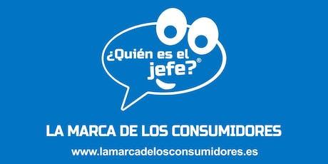 Presentación de ¿Quién es el Jefe? La marca de los consumidores en Valencia entradas