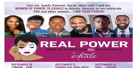 Love Travels to Power to Exhale Real Power Summit tickets