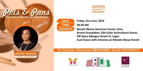 Women in Business and Leadership Workshop: Pots & Pans tickets