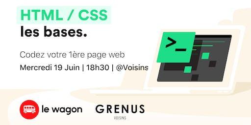 Workshop : Codez votre 1ère page web avec Le Wagon chez Voisins - Grenus