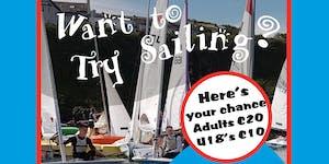 Try Sailing Tuesdays