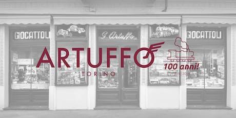 ARTUFFO MODELLISMO | Festa dei 100 anni biglietti