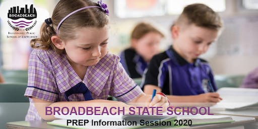 2020 - Parents Prep Information Session - Thursday 25 July