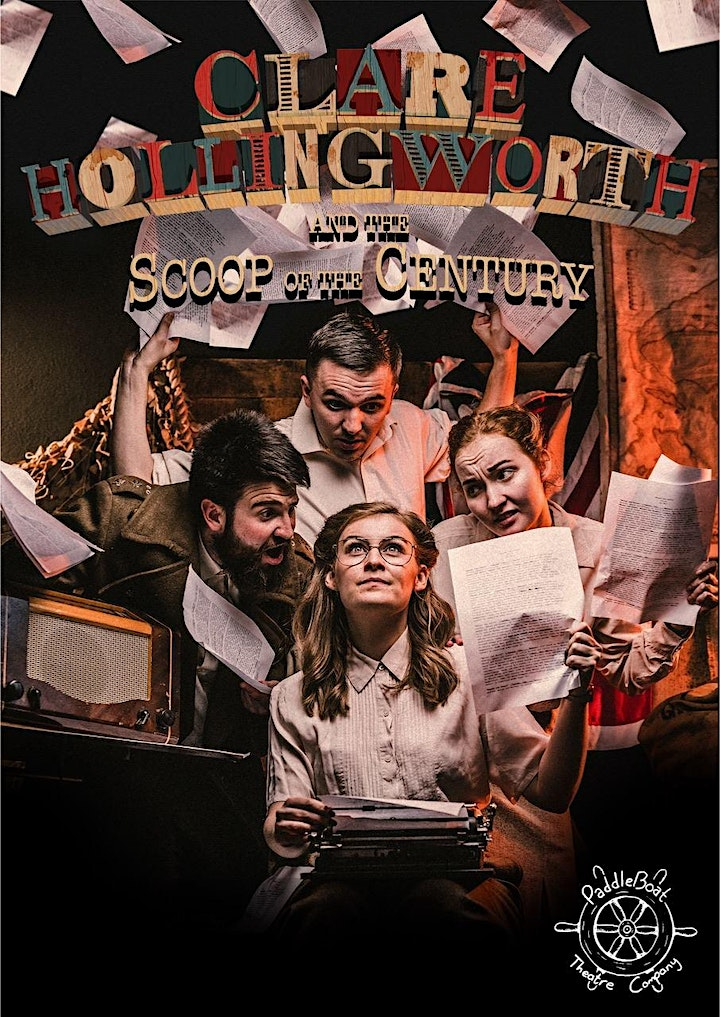 PaddleBoat Theatre - Clare Hollingworth and the Scoop of the Century image