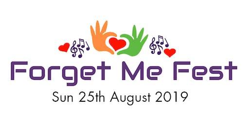 Forget Me Fest 2019