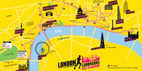 London Landmarks Half Marathon 2020 - Maggie's charity place tickets