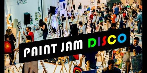PAINT JAM DISCO - 10TH BIRTHDAY PARTY! Painting + Disco DJ