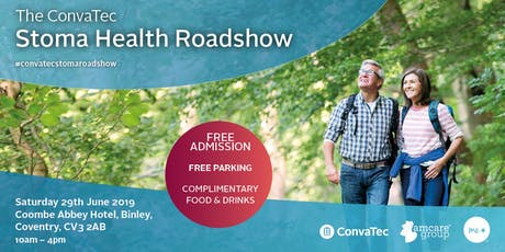 ConvaTec Stoma Health Roadshow - Coventry tickets