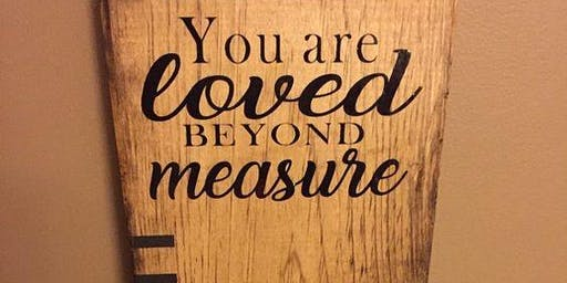 Loved Beyond Measure - Growth Chart Ruler