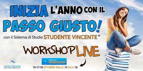 Studente Vincente - Workshop Live biglietti