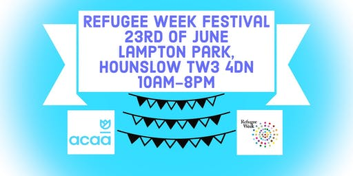 ACAA Refugee Week Festival