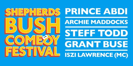 Shepherds Bush Comedy Festival:  Saturday Live At White City Place tickets