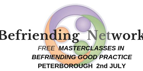 FREE Masterclass in Befriending Good Practice Peterborough tickets