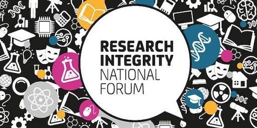 Research Integrity Workshop June 2019
