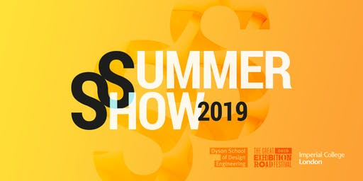 Dyson School of Design Engineering Summer Show 2019 Admissions Talk