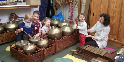 """Hands on gamelan"" 13:20 Thursday 8 August"