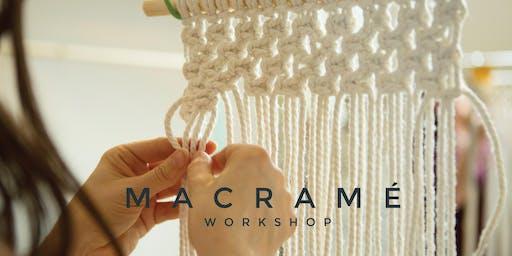 Macramé Wall Hanging Workshop