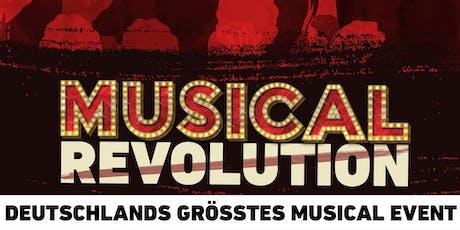 MUSICAL REVOLUTION - Das Musical-Event des Jahres! | Frankfurt tickets