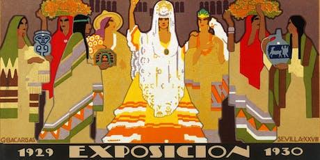 Sevilla 1929. Exposición Iberoamericana entradas