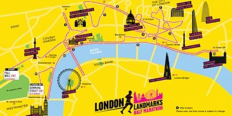 London Landmarks Half Marathon 2020 - Own place registration form tickets