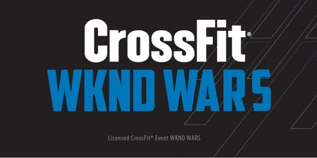CrossFit Wknd Wars - Licensed Event - Outubro 2019 ingressos