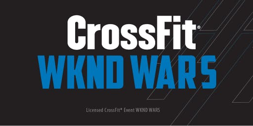 CrossFit Wknd Wars - Licensed Event - Outubro 2019