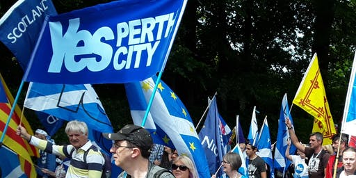 Perth Bus to AUOB March Ayr 6th of July 2019