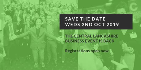 Central Lancashire Business Event 2019 tickets